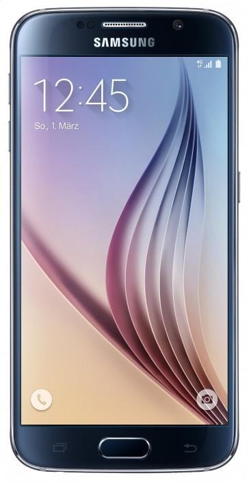Samsung Galaxy S6 G920F 32GB Onyx Black + Top Zustand (#4445)