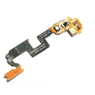 HTC One X Ein/Aus Schalter Power Sensor & Mikrofon Flex Kabel