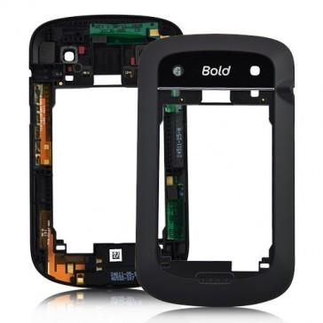 BlackBerry 9900 Bold Antennenrahmen (Backcover) schwarz