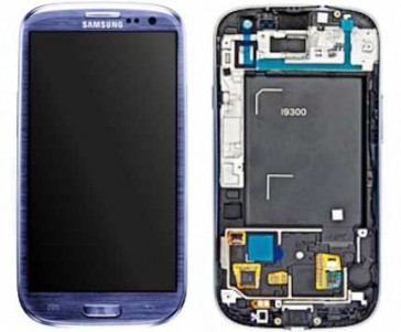Original Display Einheit für Samsung i9300 Galaxy S3 (Blue)