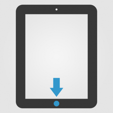 Apple iPad 4 Homebutton (Home Knopf) Reparatur