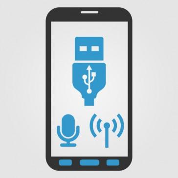 Samsung N910 Galaxy Note 4 USB/Homebutton/Sensor Tasten/Mikrofon/Antennen Flex Reparatur
