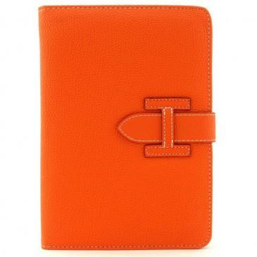Kunstleder Flipcase für iPad Mini & iPad Mini Retina mit Schlaufe (Orange)