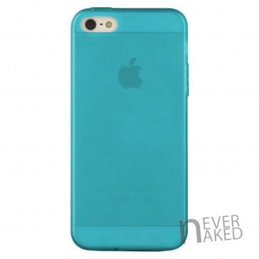 nevernaked iPhone 5 & 5S Schutzhülle aus Kunststoff mit Staubschutz (Blau)