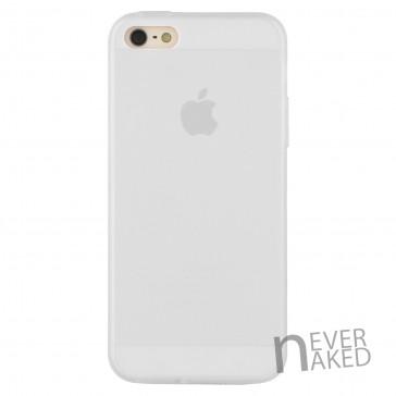nevernaked iPhone 5 & 5S Schutzhülle aus Kunststoff mit Staubschutz (Weiß)