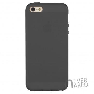 nevernaked iPhone 5 & 5S Schutzhülle aus Kunststoff mit Streifen (Schwarz)