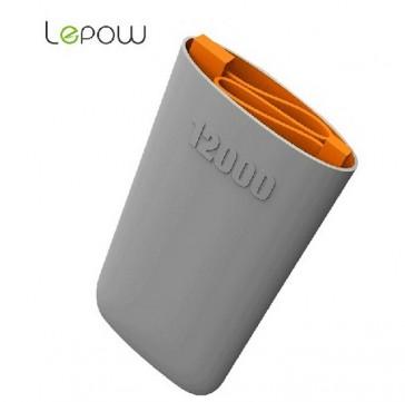 Lepow U-Stone 12000 Mobiles Ladegerät Grau