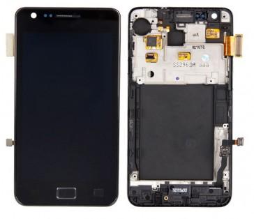 Samsung i9100 Galaxy S2 Display Assembly Schwarz (Original)