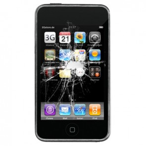 Apple iPod Touch 2G Display Reparatur (LCD, Touchscreen, Glas)