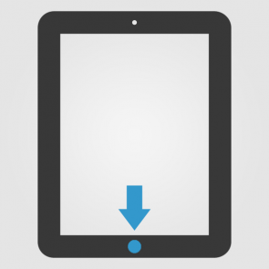 Apple iPad 2 Homebutton (Home Knopf) Reparatur