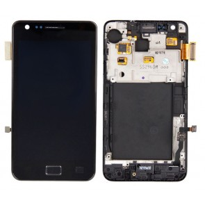 Samsung i9100 Galaxy S2 Display Assembly Schwarz (Original)