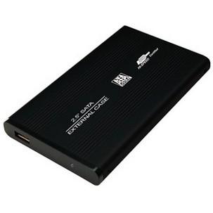"""Externes 2,5"""" Gehäuse mit USB 3.0 Anschluss"""