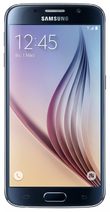 Samsung Galaxy S6 G920F 32GB Onyx Black + Guter Zustand (#7848)