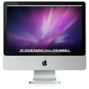 "iMac 20"" Early 2009 Intel(R) Core(TM)2 Duo CPU E8135 @ 2.66 Hz 4GB RAM 320GB HDD 20"" 1680x1050 SuperDrive Nvidia GeForce 9400 256MB (RFIM006)"