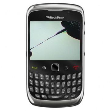 BlackBerry 9300 Curve 3G mit gebrochenem LCD