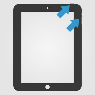 Apple iPad 2 Power, Mute & Volume Flex Reparatur