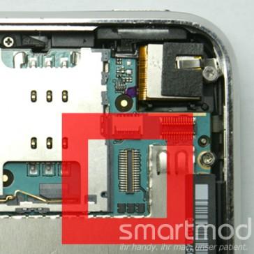 Apple iPhone 3G FPC Nr. 2 (Digitizer-/Touchscreen-Connector) Reparatur