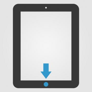 Apple iPad Air 2 Homebutton (Home Knopf) Reparatur