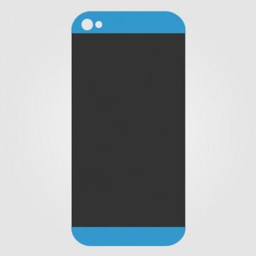 Apple iPhone 5S Backcover Glas Einsätze Reparatur