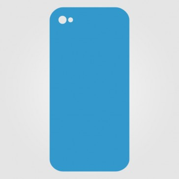 Apple iPhone 4S Backcover Reparatur (Schwarz, ohne Logo)