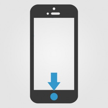 Apple iPhone 5S Home Knopf (Homebutton) Reparatur