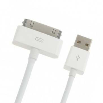 USB Kabel für Apple iPhone, iPad & iPod (weiß, 2m)