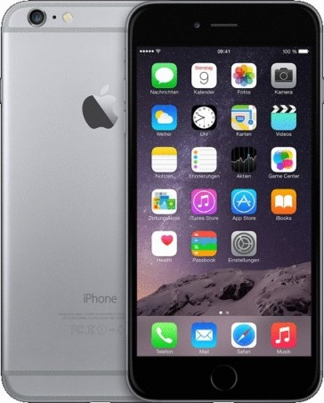 Apple iPhone 6 64GB Spacegrau ++ Gebraucht (#6917)