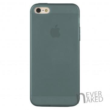nevernaked iPhone 5 & 5S Schutzhülle aus Kunststoff mit Staubschutz (Schwarz)