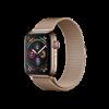 Apple Watch Series 4 WiFi/GPS + Cellular - 44mm - Milanaise Gold - NEU (#5960)