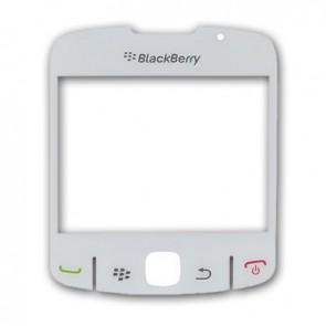 BlackBerry 8520 Curve Displayglas Weiß (White)