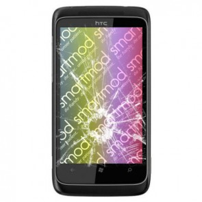 HTC 7 Trophy Display Reparatur (LCD, Touchscreen, Glas)