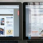 smartmod MacBook Entspiegelung - Vorher/Nachher