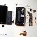 Das neue iPhone 5 - zerlegt in seine Einzelteile