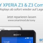 SONY XPERIA Z3 & XPERIA Z3 Compact Displays wieder auf Lager