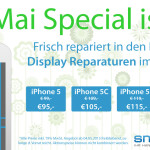 Mai-Special: iPhone Display Reparatur zum Aktionspreis