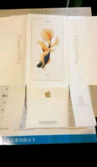 Ist das die Verpackung des das iPhone 6S Plus?