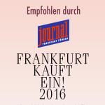 smartmod als eines der Top Geschäfte Frankfurts ausgezeichnet